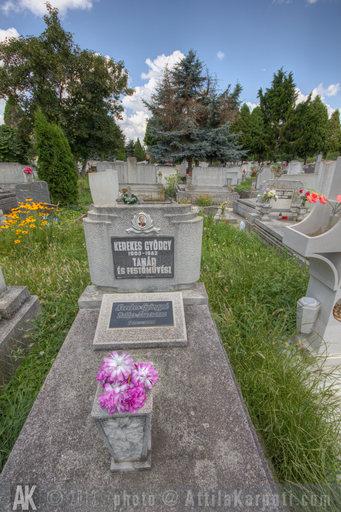 2013. 11. hét: Békéscsaba - Ligeti temető - Kerekes György sírja - 800x1200 pixel - 1279836 byte