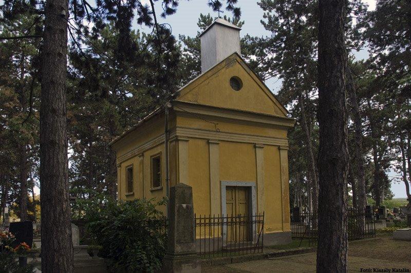 Verpelét, a temető kápolnája