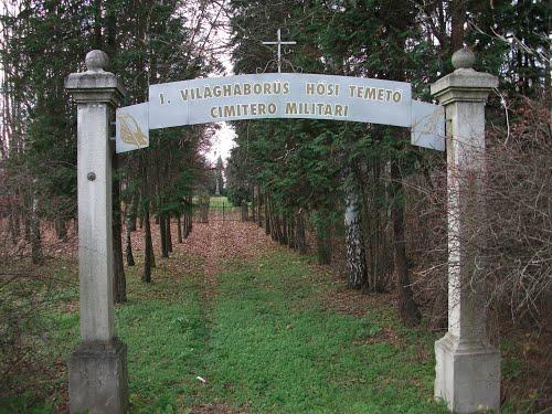 Zalaegerszeg - I. világháborús (olasz) hősi temető