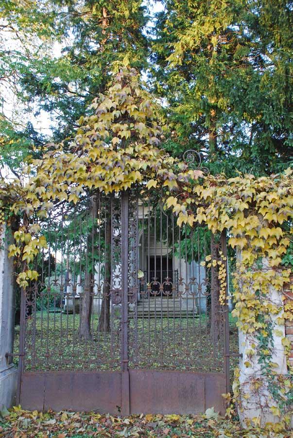 Evangélikus temető - részlet