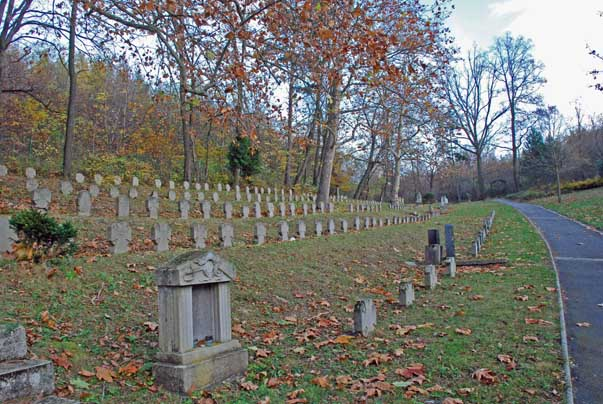 A sopron-bánfalvi Hősi temető - részlet