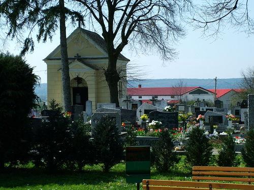 Kőszegfalva, temető