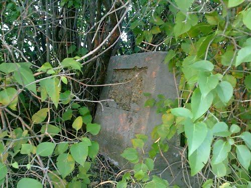 A zsidó temető utolsó sírköve
