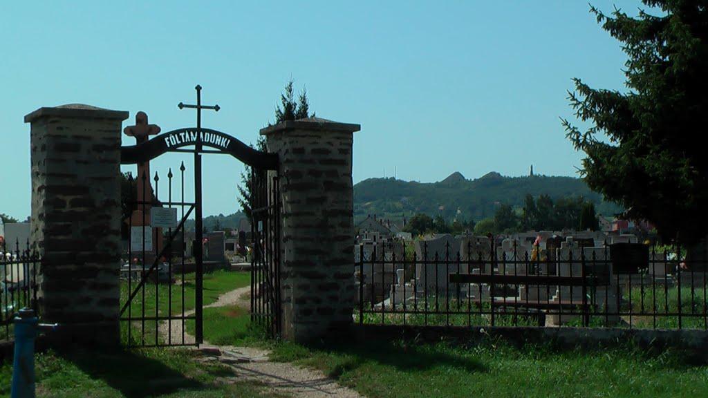 Celldömölk, Római katolikus temető a Hegyi úton