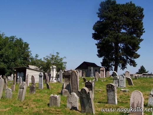 Dózsa Gy. úti új temető részlet