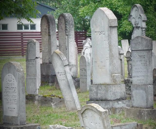 Zsidó temető Vásárosnamény