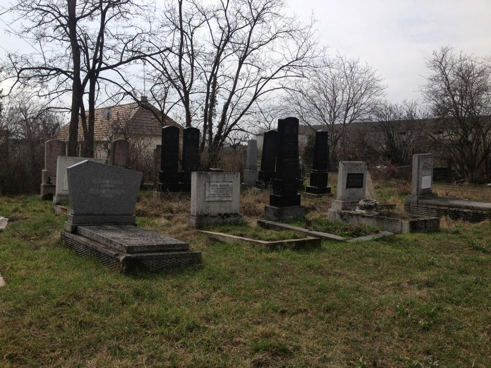 Izraelita temető, Szőny, Komárom