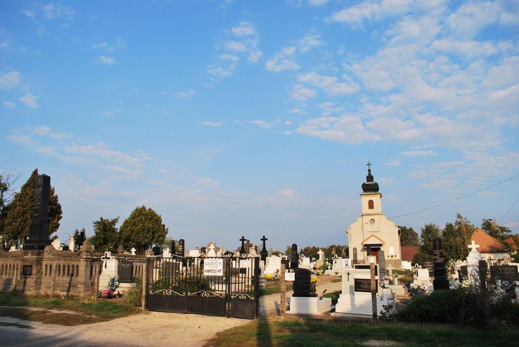Katolikus temető