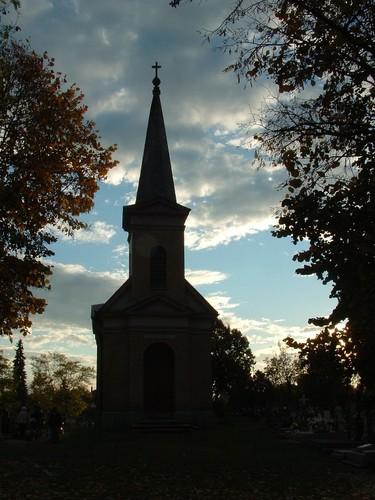 Katolikus temető kápolnája