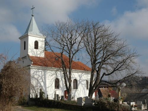 A temető és kápolnája Pécs-Patacson
