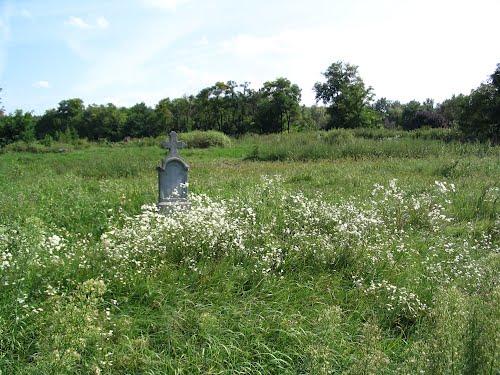 Hajdúböszörmény A régi görög katolikus temető látképe