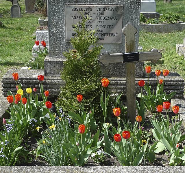 Újabbkori sír