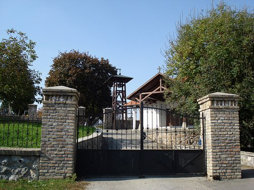Gate of Bonyhad Cemetery
