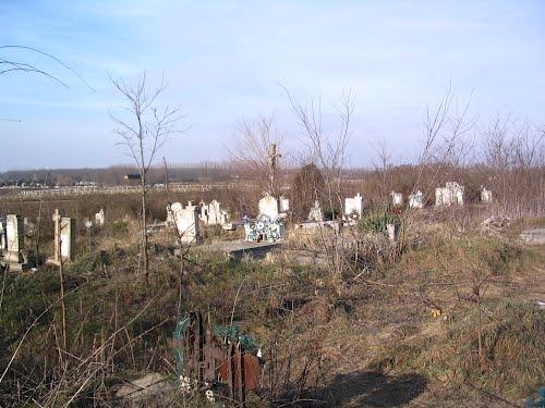 Újfehértó A régi görög katolikus temető látképe