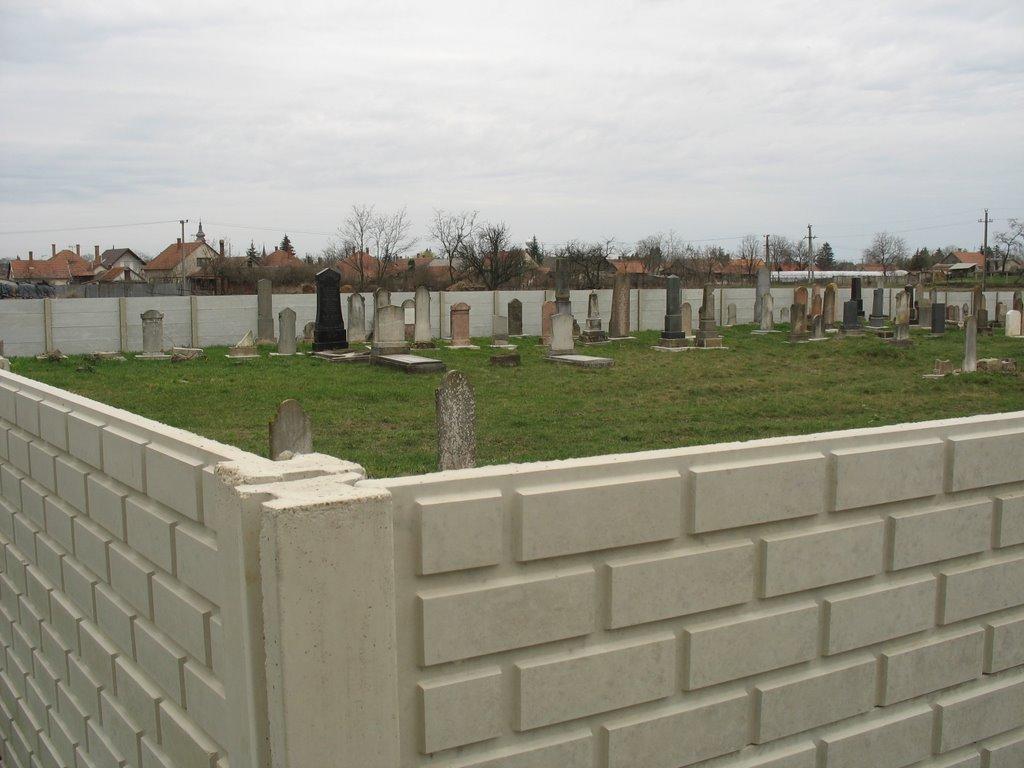 Derecske, izraelita temető.