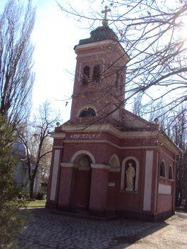 Kunszentmárton Alsó temetői Kápolna .
