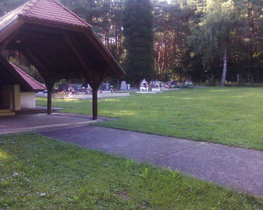 A temető