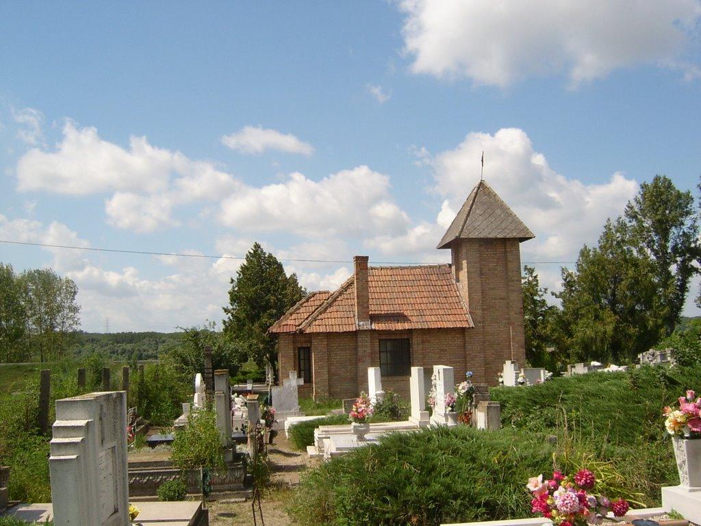 A Dunavecsei Katolikus Temető Kápolnája