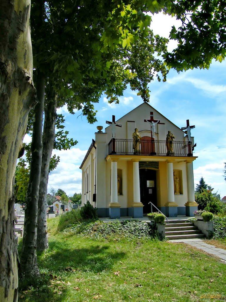 Jászfényszarui temető kápolna - Szent kereszt temető